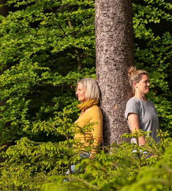Waldbaden naturkind mit Sonja Schett