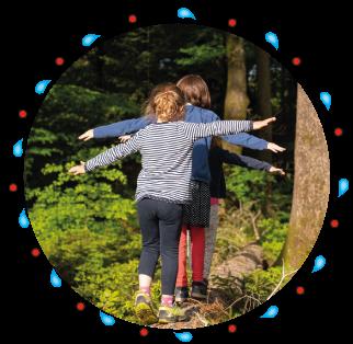natürlich lernen - naturkind- Waldpädagogik in BAyern Salzburg mit Sonja Schett