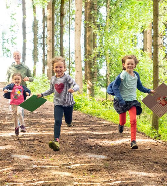 Natürlich lernen im Wald - Erlebniswald Sonja Schett
