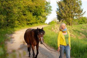 Pferde Pony Sonja Schett