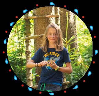 Naturkind und Waldpädagogik mit Karin Angerer - in Bayern im Chiemgau Nahe Salzburg
