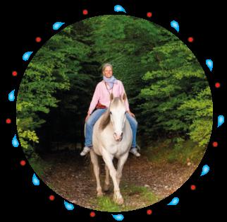 Reiten für Kinder mit Sonja Schett in Grabenstäät in Bayern - Chiemgau Traunstein